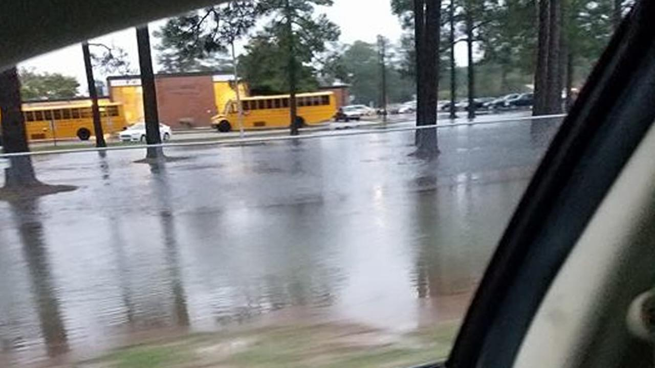 Flooding in the Hope Mills/Fayetteville areaABC11 Eyewitness photo