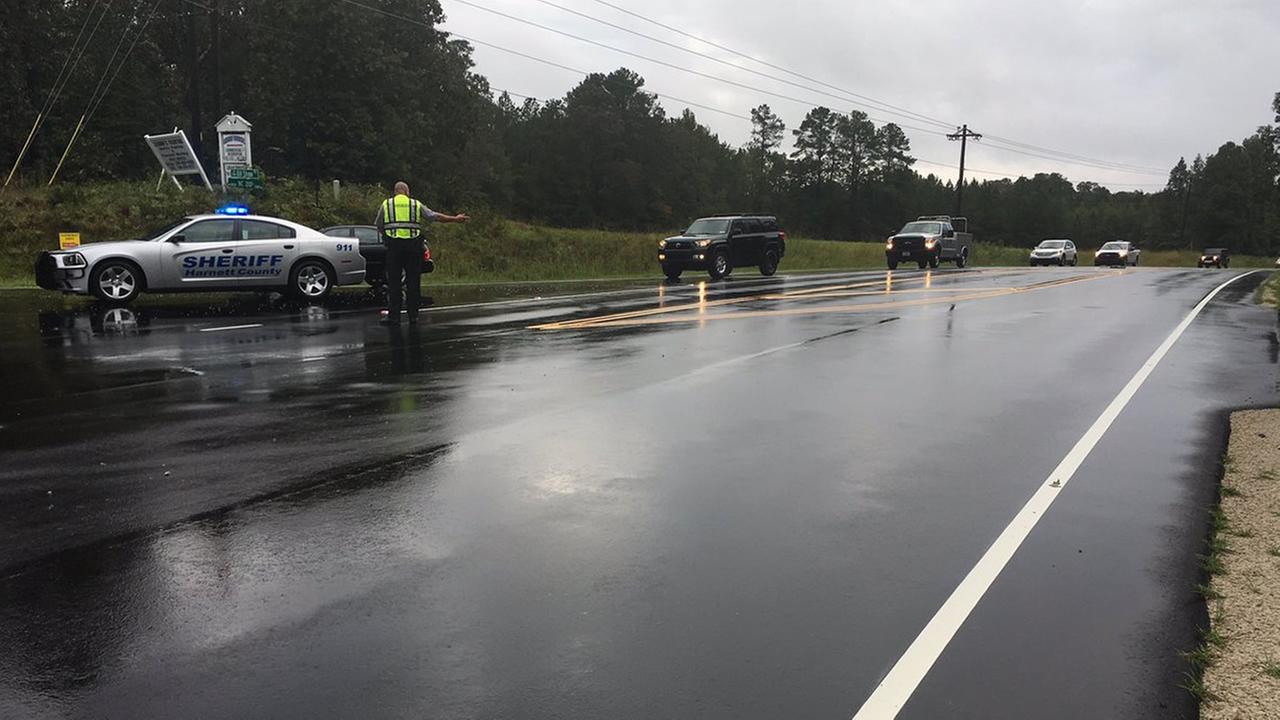 Floods strike the Fayetteville/Hope Mills region.ABC11 Eyewitness photo