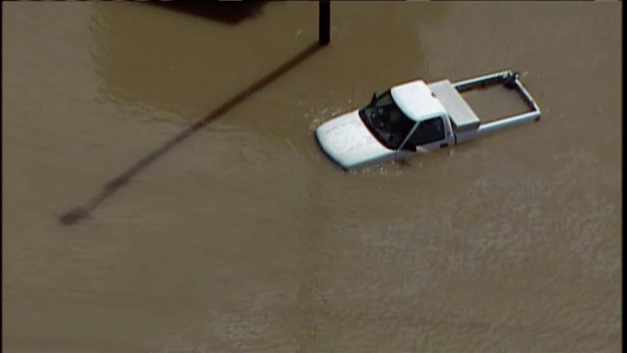 Flooding strikes central North Carolina
