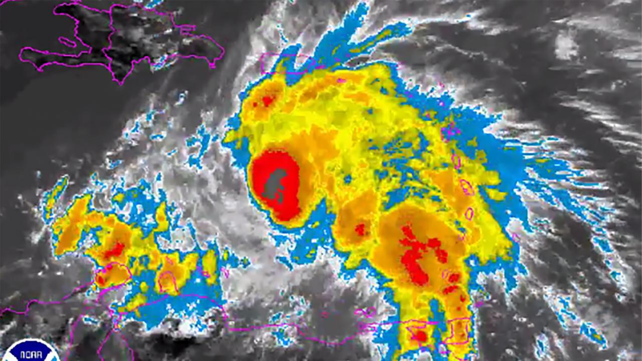 Matthew has strengthened into a hurricane in the Caribbean