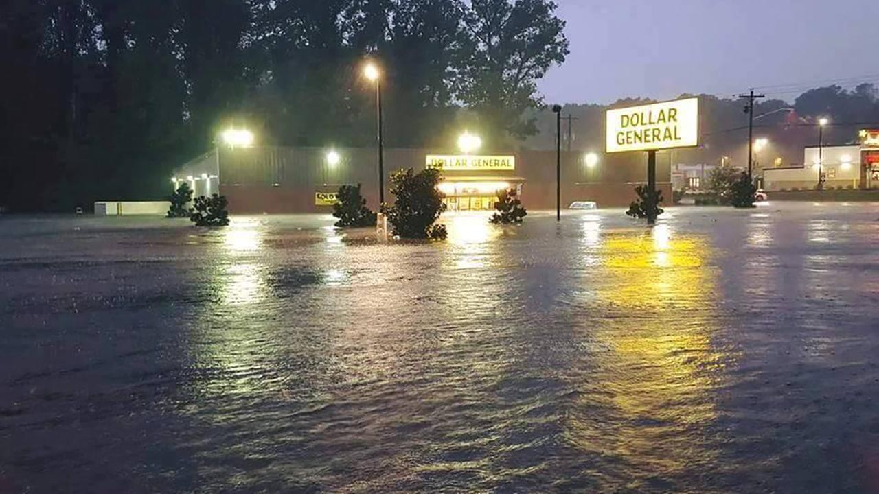 Dollar General in TarboroABC11 Eyewitness flooding