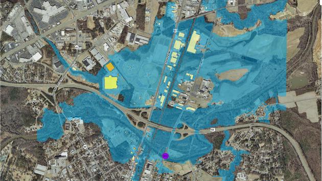 What Rivers In North Carolina Are Flooding Abccom - Nc flood maps