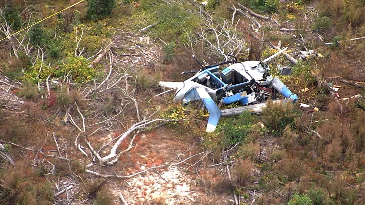 Moore County helicopter crash