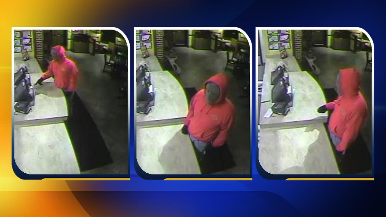Photos of the robbery suspect at Zaxbys on Cliffdale Road