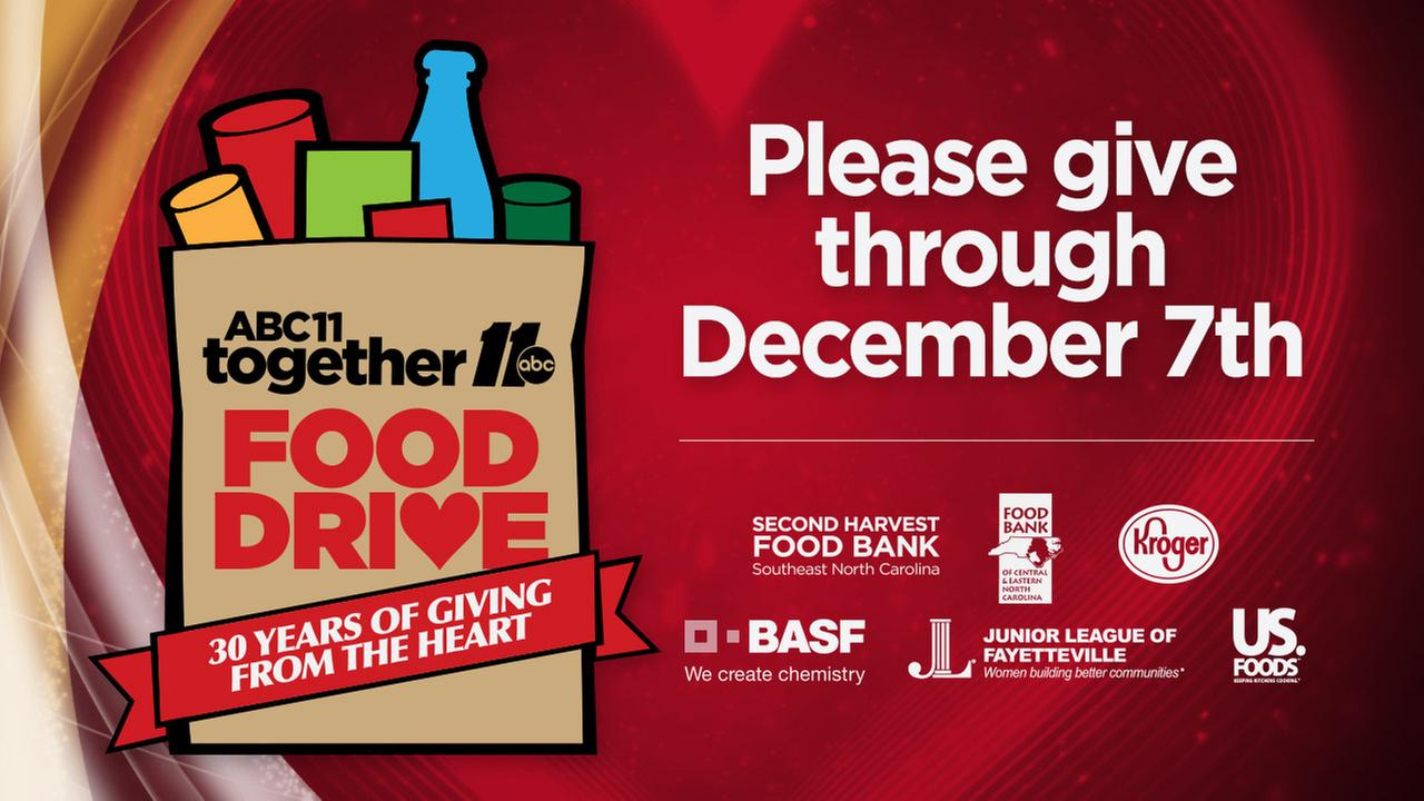 2016 ABC11 Together Food Drive