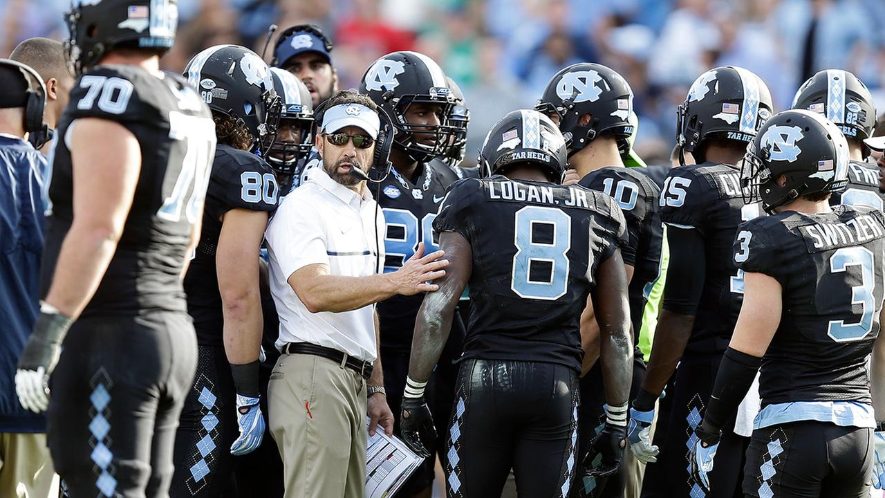 North Carolina head coach Larry Fedora had more questions than answers on Saturday.Gerry Broome