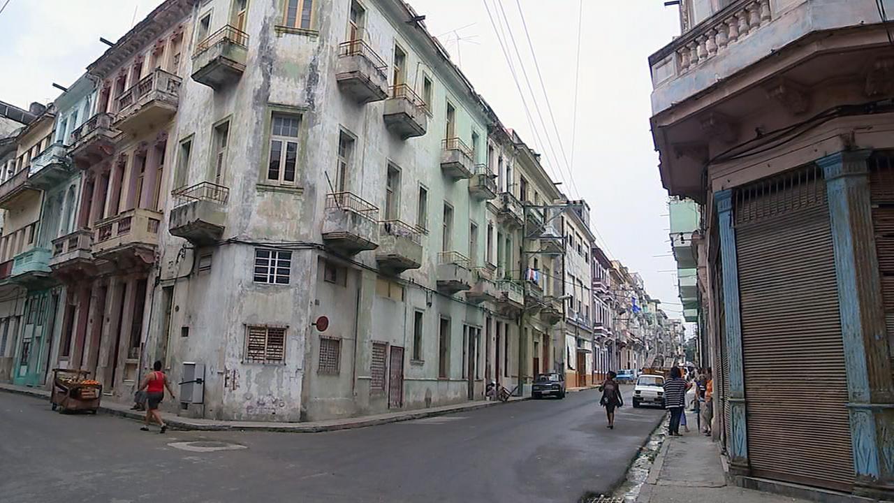 A street corner in Downtown Havana.Adolfo Ibarra