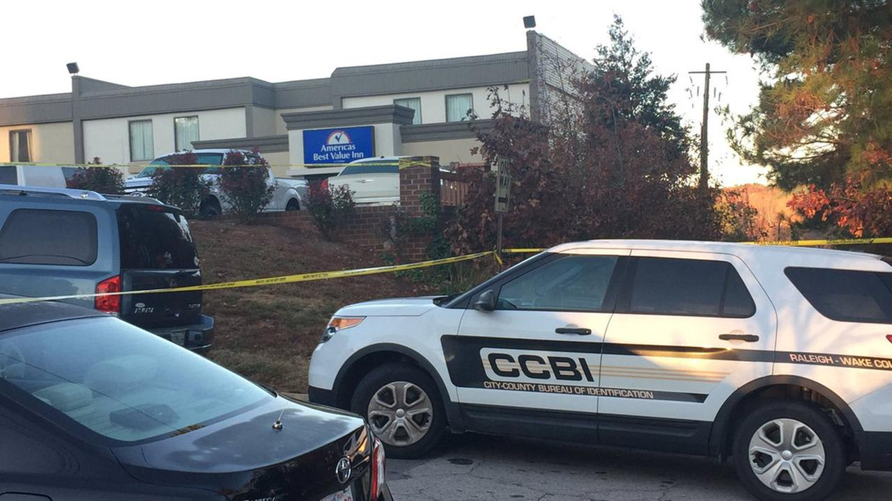 CCBI arrives at hotel after double-fatal shooting in Raleigh