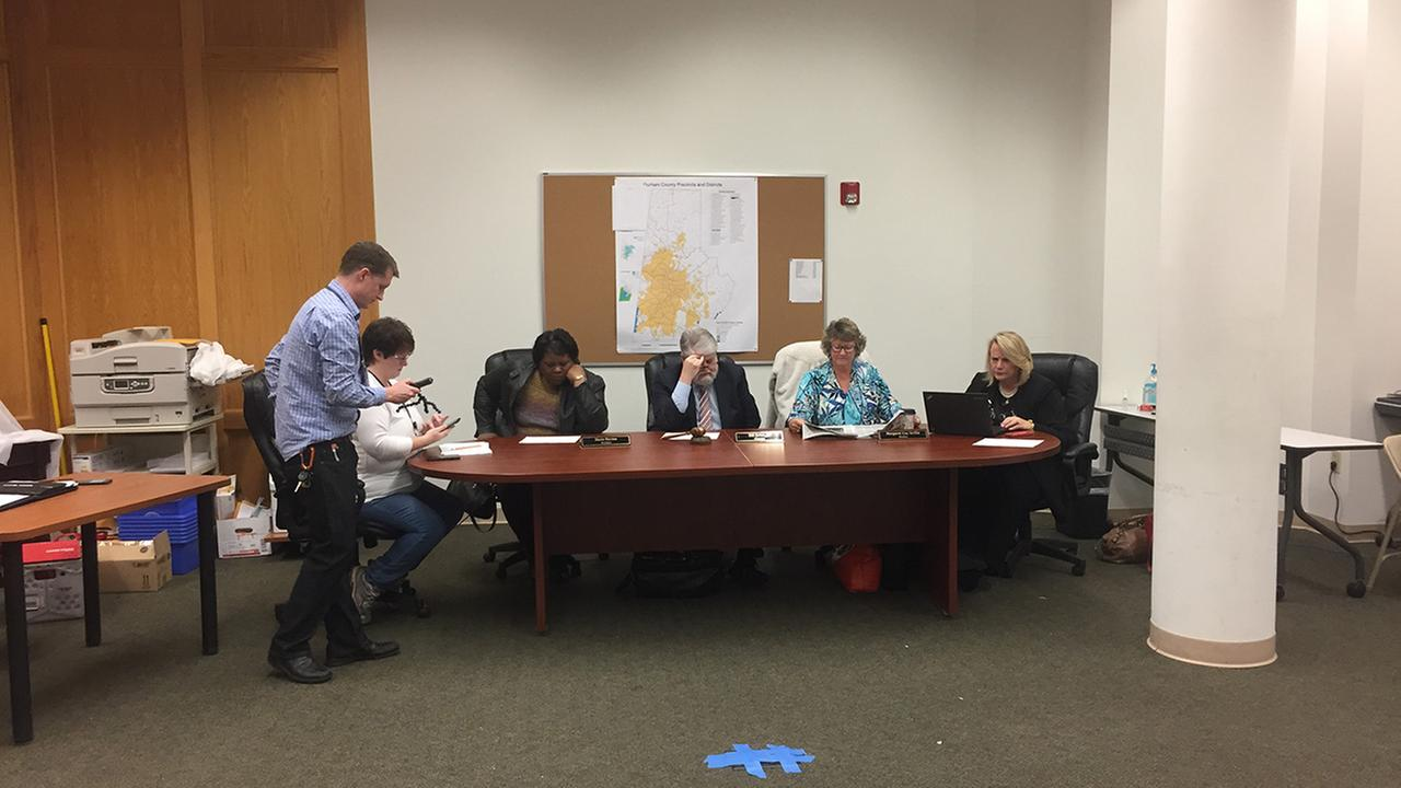 The Board of Elections emergency meeting in Durham County