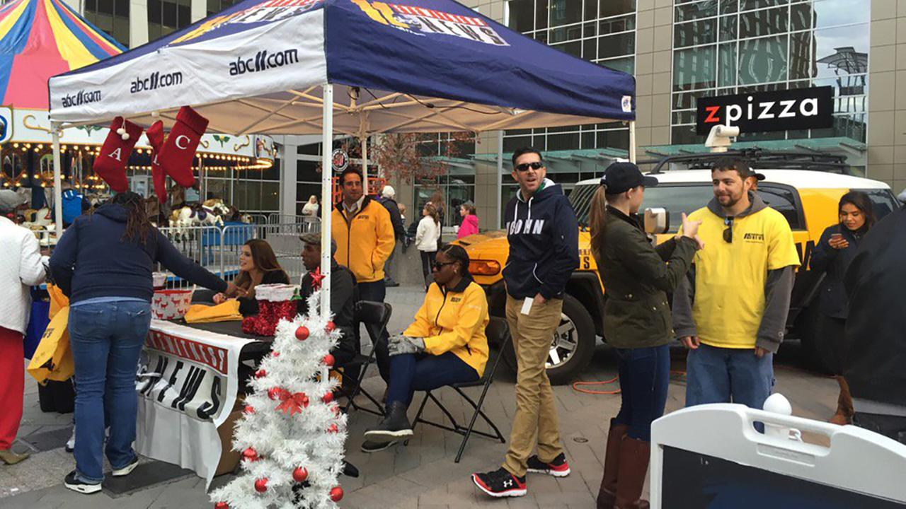 Photos from ABC11s reporters, anchors, and staff at the Ipreo Raleigh Winterfest 2016