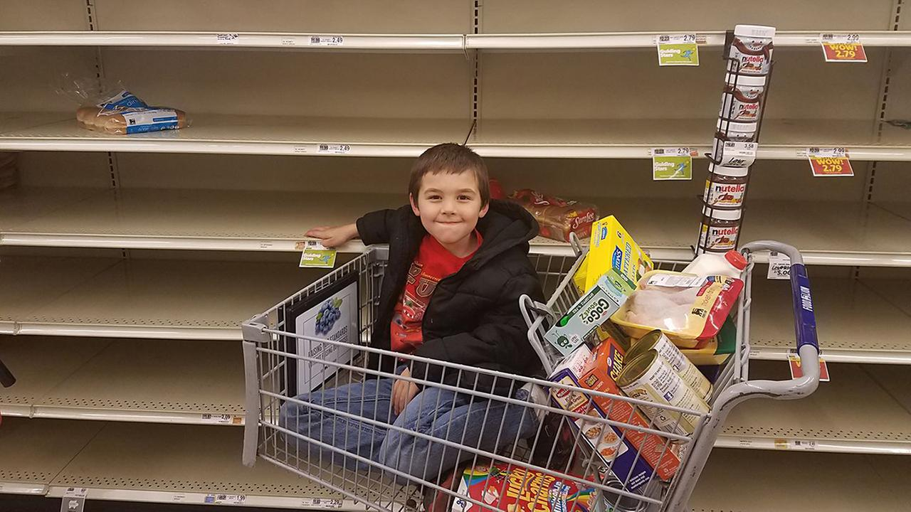 Slim pickings at Food Lion!Jennifer Hunt/ABC11 Eyewitness
