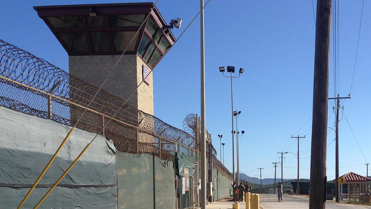 This Dec. 10, 2016 photo shows the exterior of Camp 6 at the detention center at the Guantanamo Bay U.S. Naval base, in Cuba