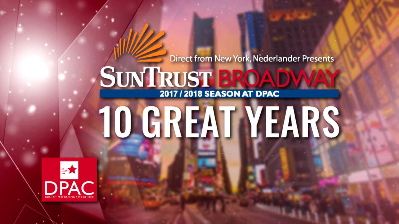 DPAC celebrates 10th Broadway season