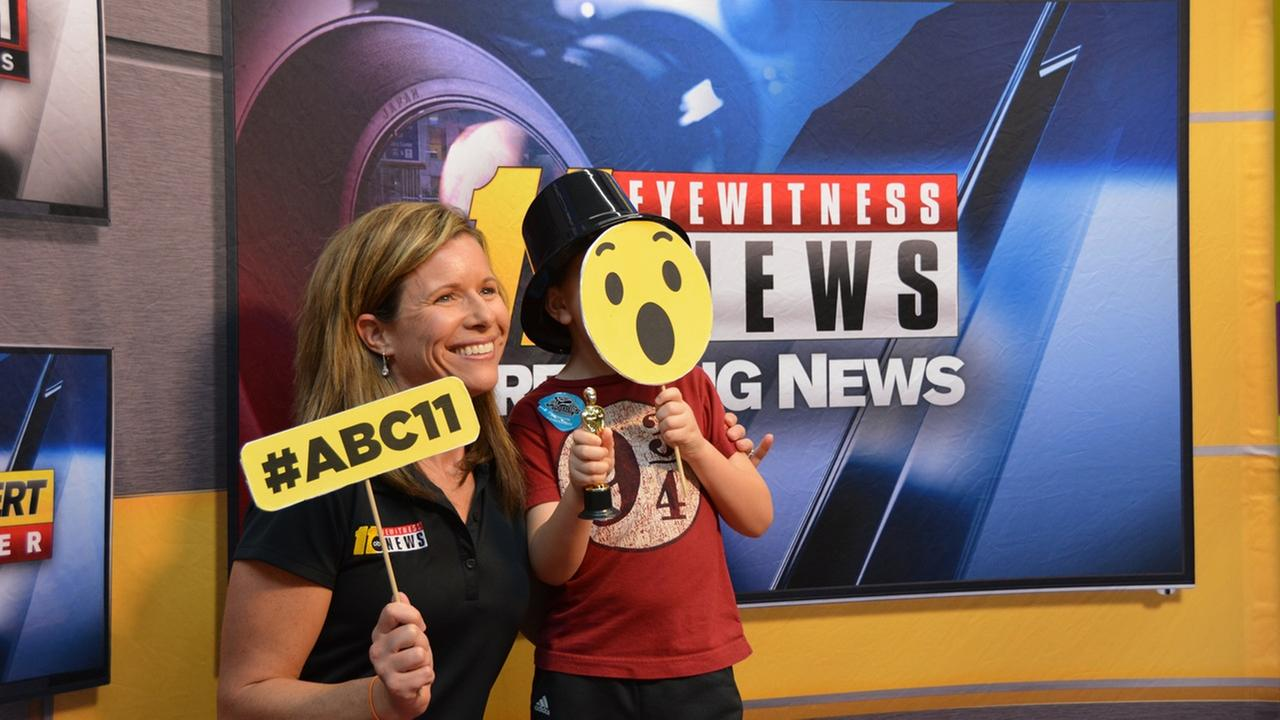 ABC11 at the Future Me Kids Career Fair at Marbles Museum