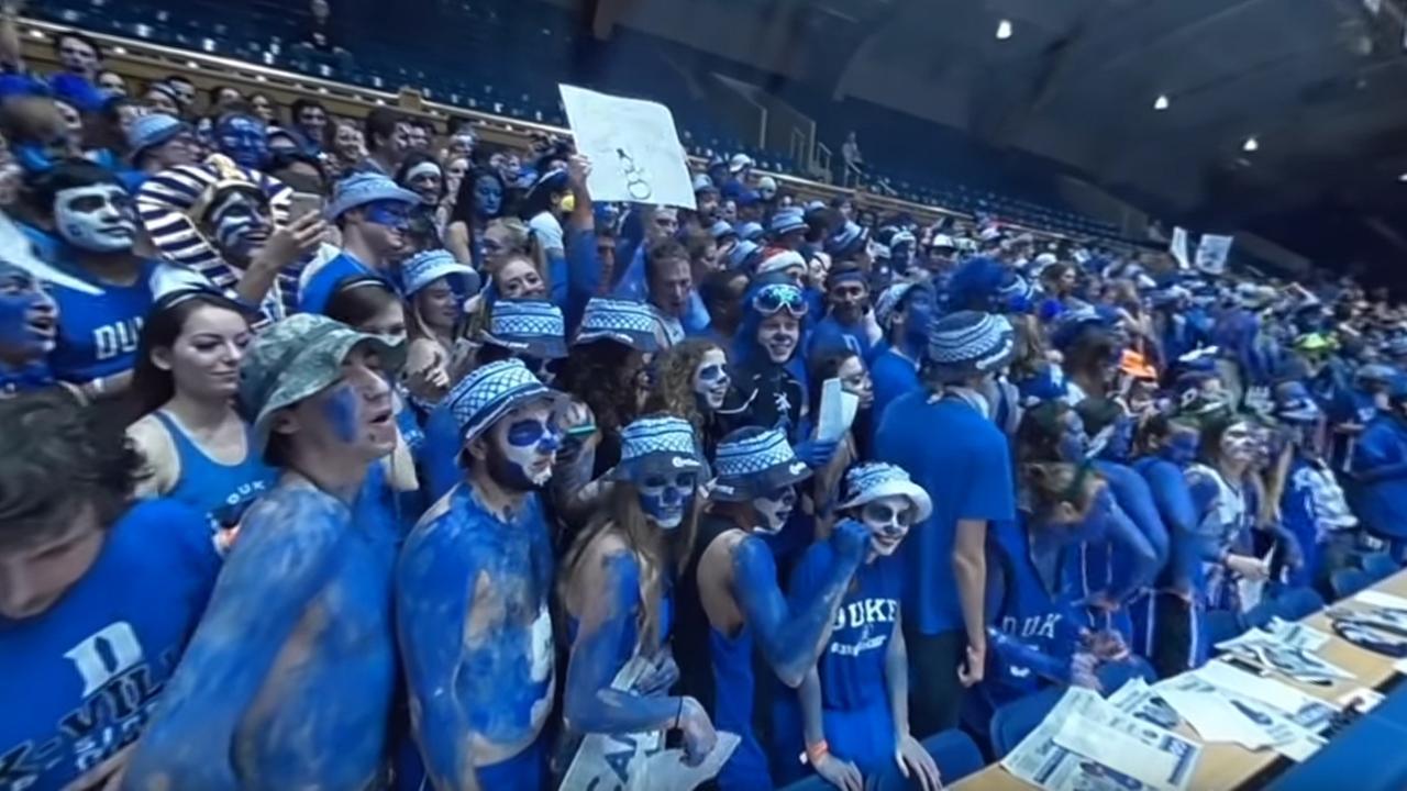 360 video: Inside the Cameron Crazies at Duke v. UNC