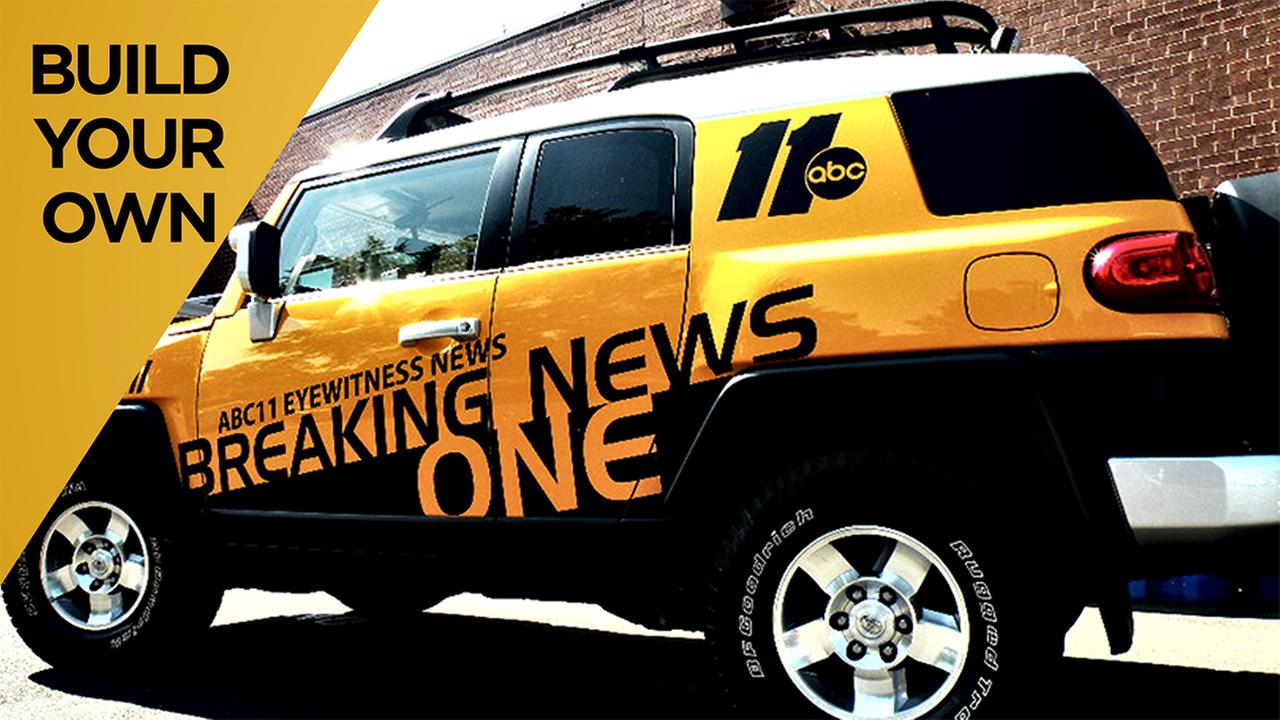 Make your own ABC11 Breaking News 1 out of paper