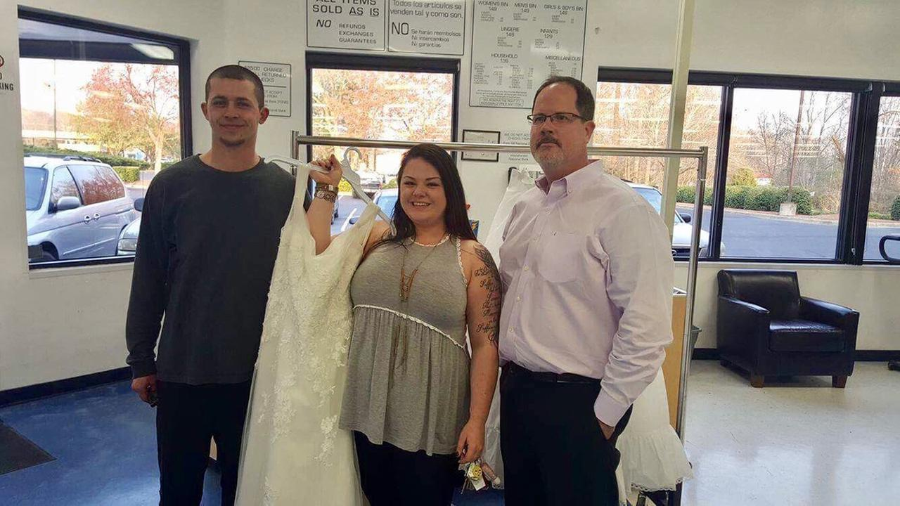 Natalie Gelbert is reunited with her mistakenly donated wedding dress