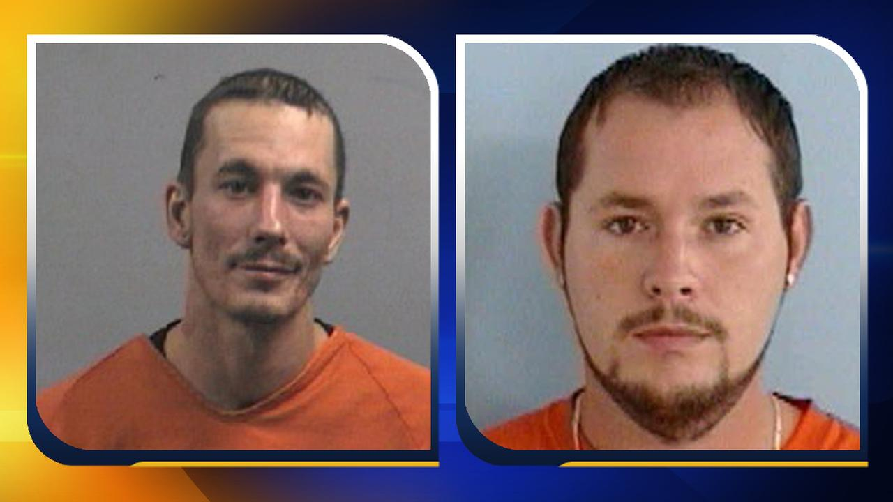 Left: Dustin Steve Kirk; Right: Jerry Wayne Anthony Chandler