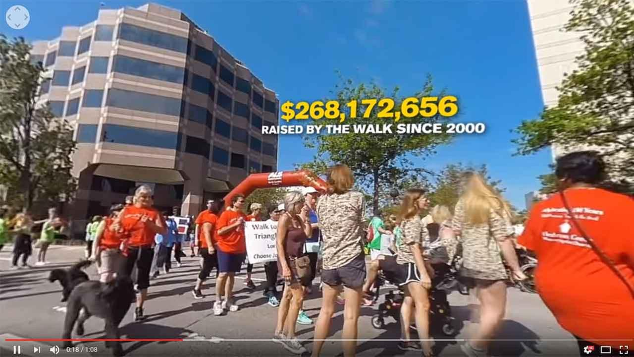 Take a 360 tour of Raleigh's ALS walk