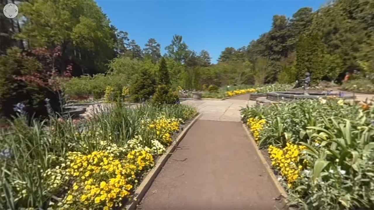 Take a 360 tour of Duke Gardens