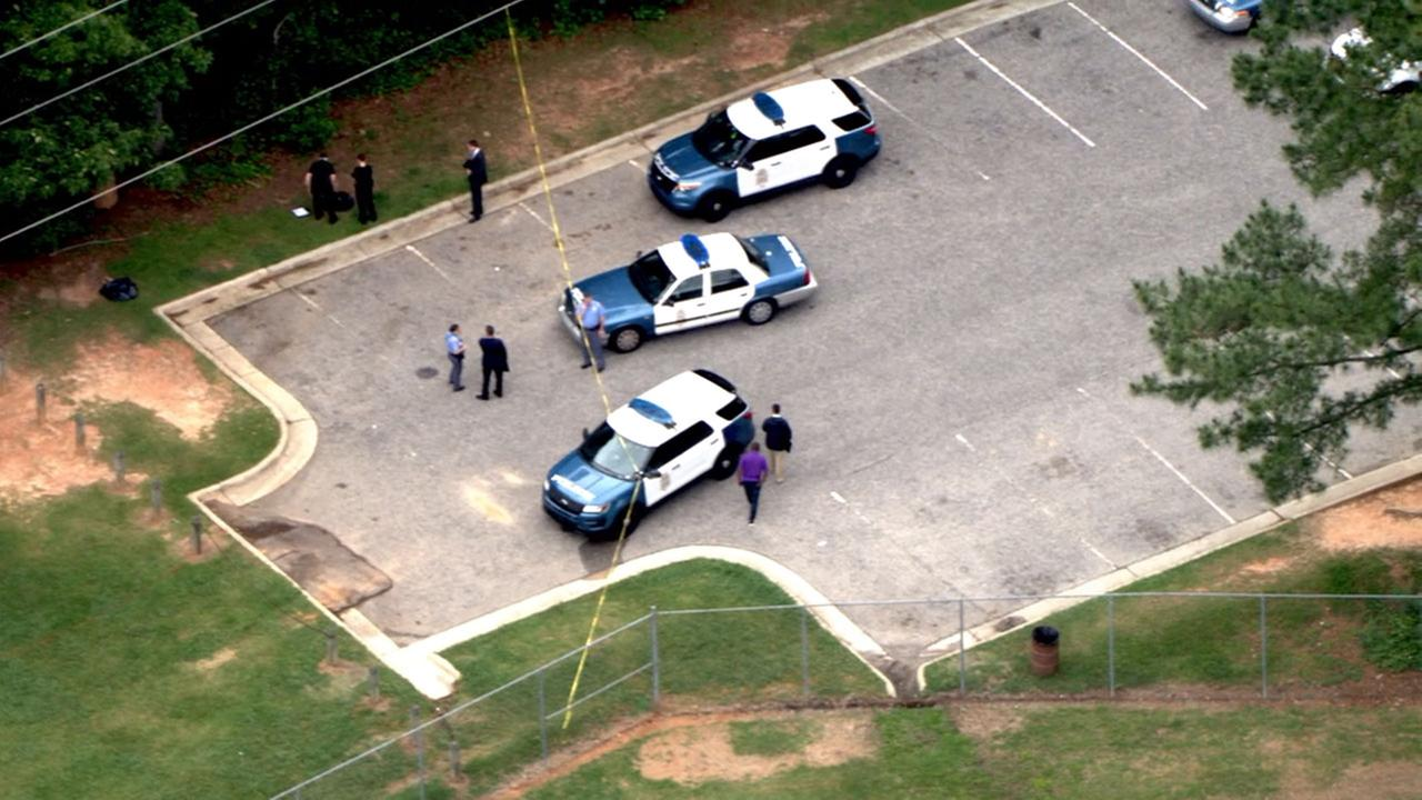 Authorities investigating shooting at Cedar Hills Park off Sweetbriar Drive, near E. Millbrook Road.
