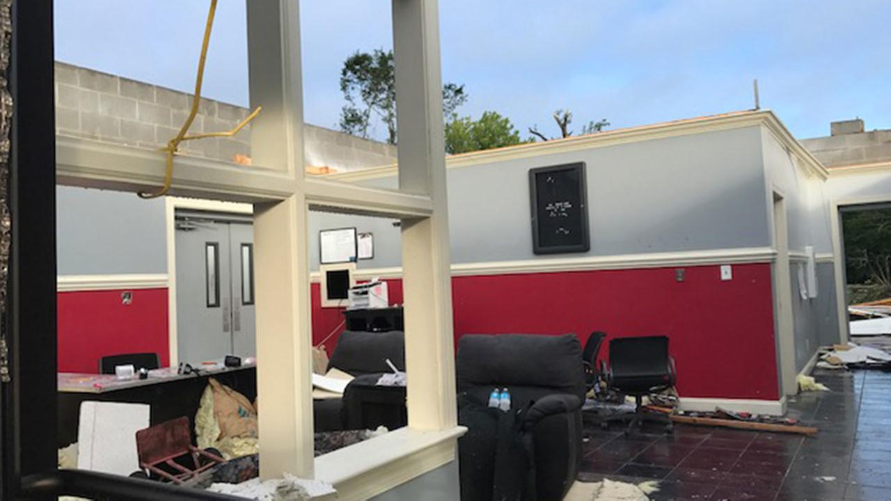 Tornado damage in AutryvilleABC11 Photojournalist Jeff Hinkle