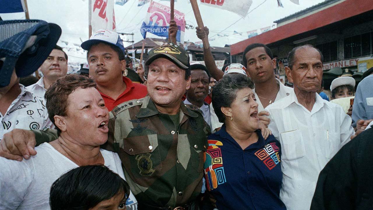 Manuel Noriega (AP image)
