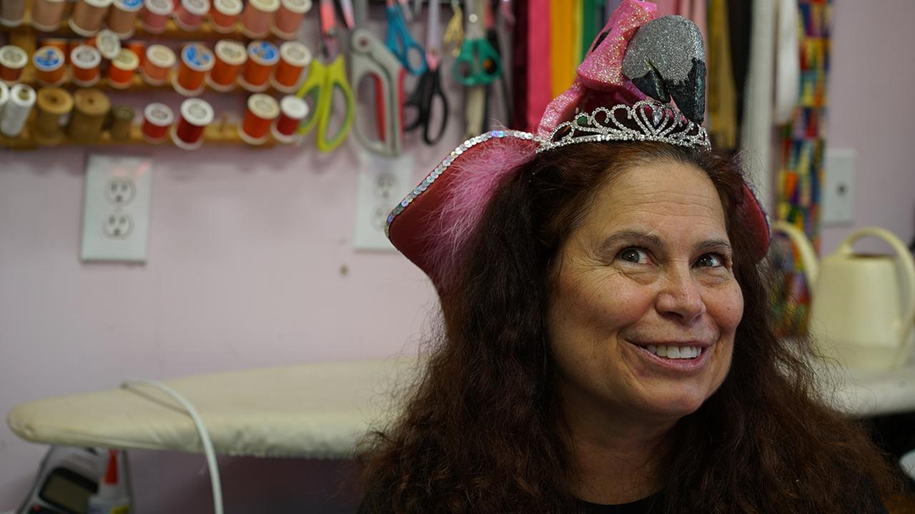 Nora Bulluck has been the seamstress for the Miss North Carolina pageant for the past 26 years.