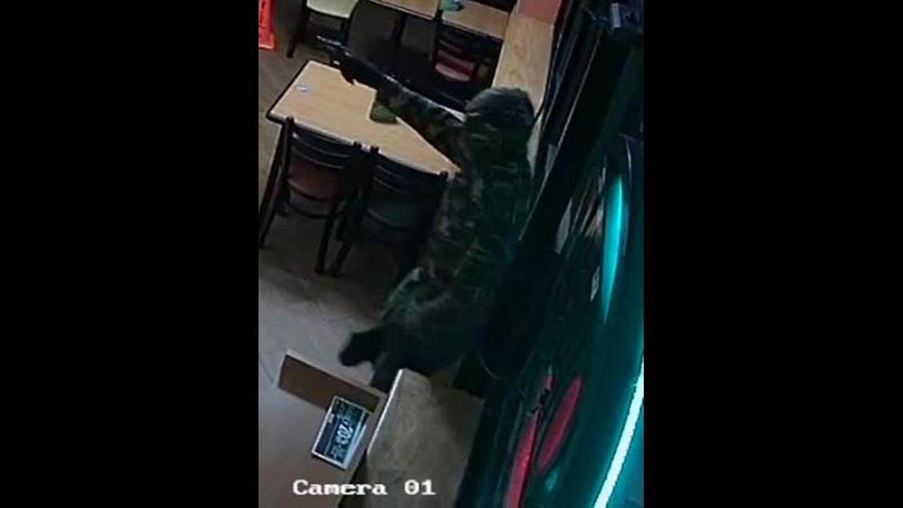 A robbery at a Subway restaurant located at 3421 Murchison Roadimage courtesy Fayetteville Police Department
