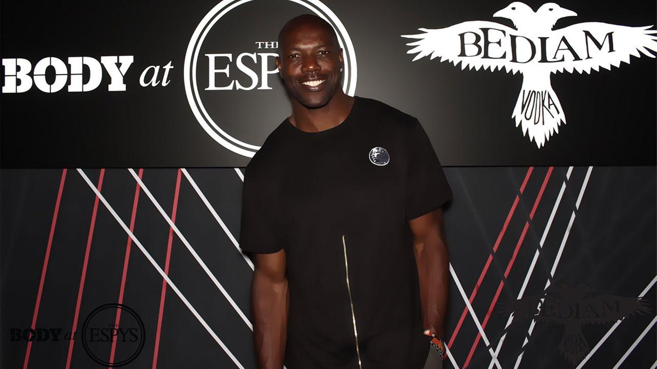 Terrell Owens pictured at ESPNs ESPYs Body party, Tuesday, July 12, 2017.