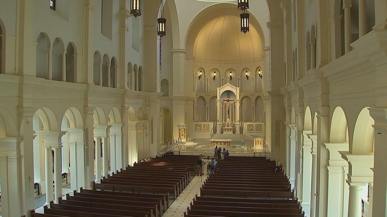 New Holy Name of Jesus Cathedral in Raleigh