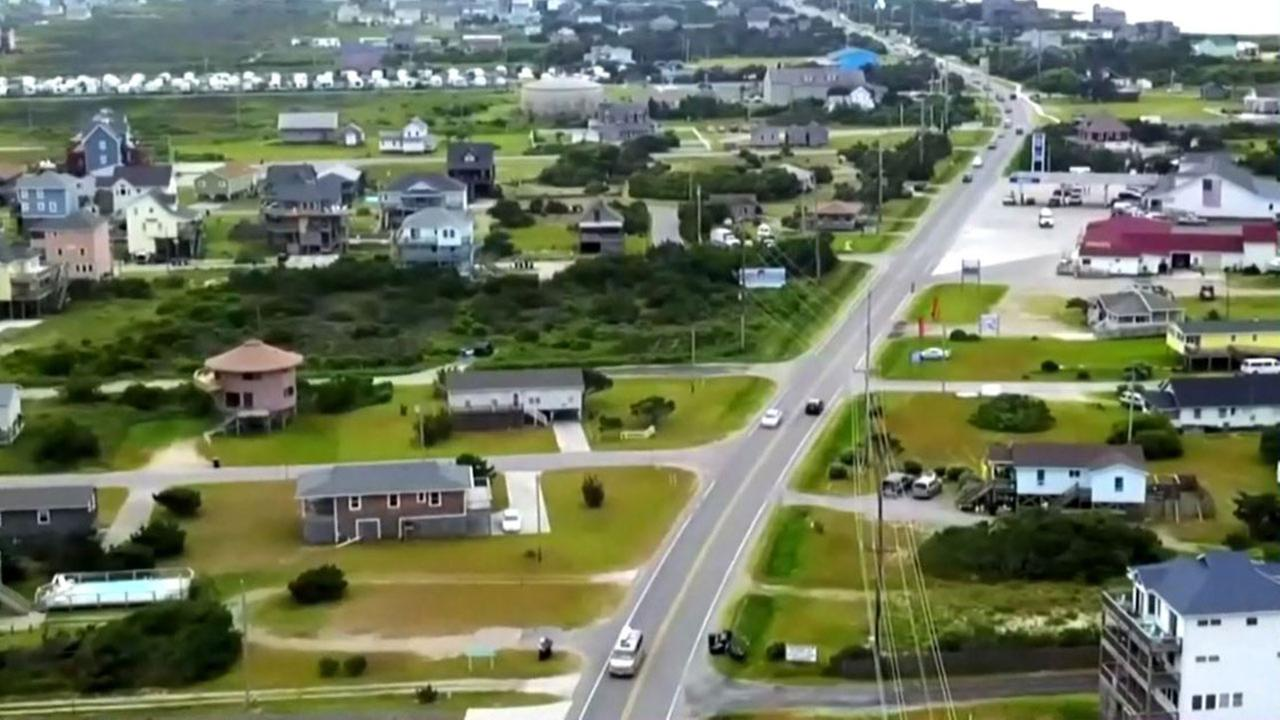 Power outage in the Outer Banks