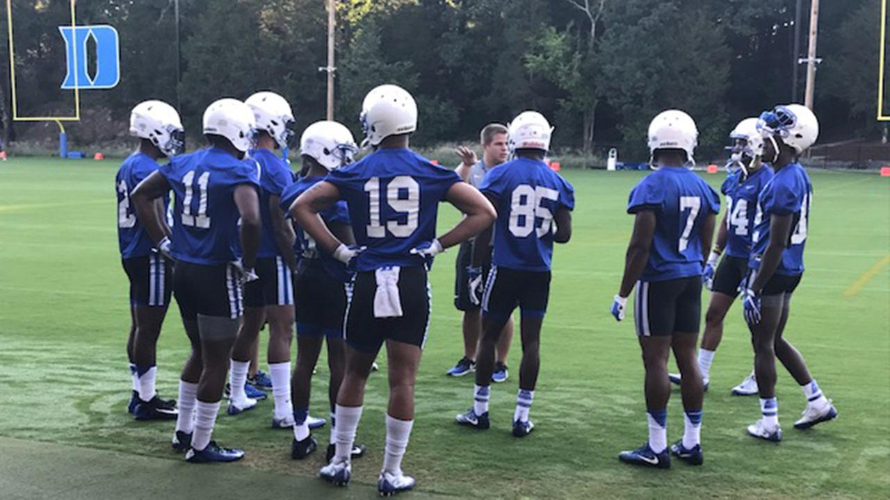 Football camps kick off at Duke University, North Carolina Central University, UNC Chapel Hill, and North Carolina State University.ABC11 Photojournalist Charlie Mickens