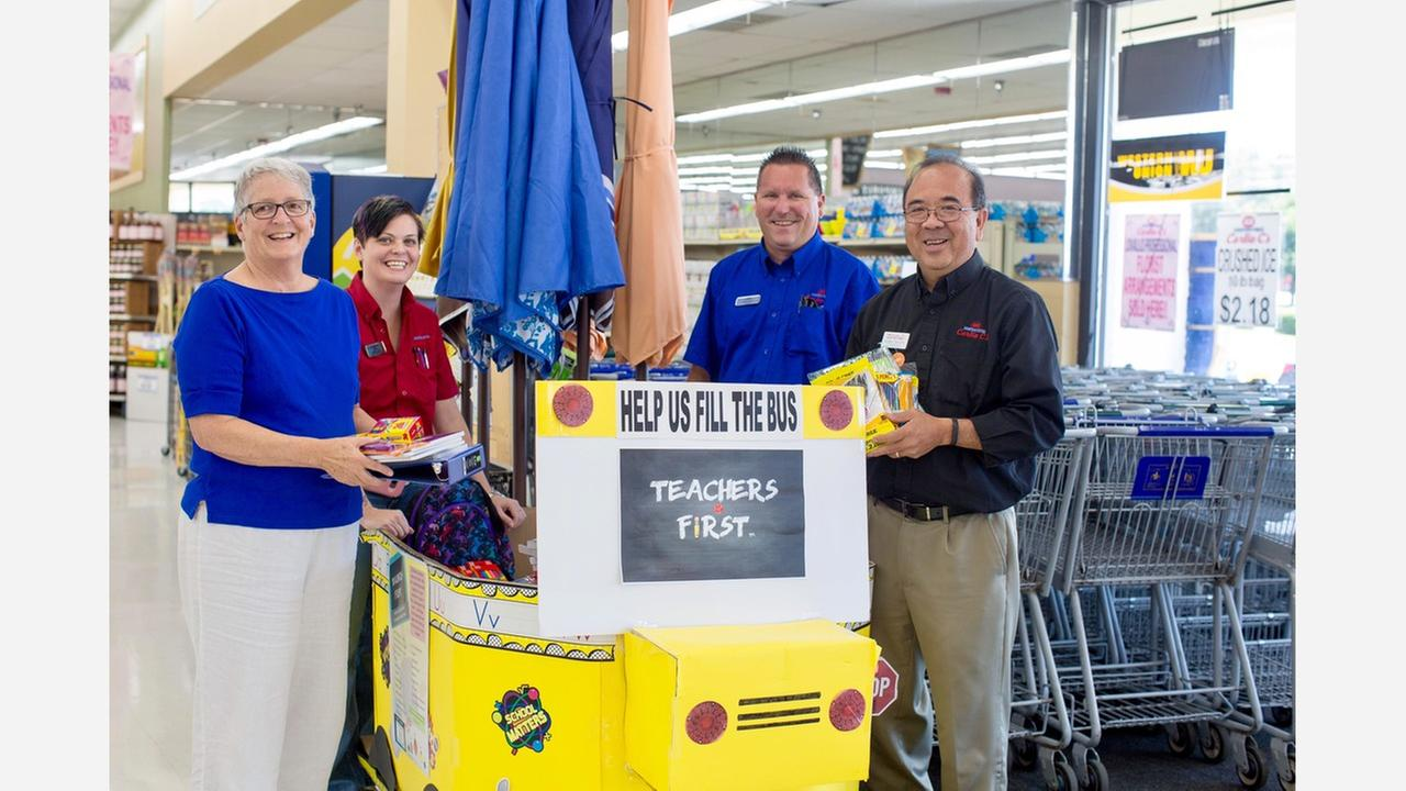 Zebulon putting 'Teachers First' with new school supply drive