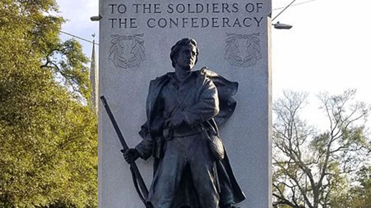 Confederate statue in Wilmington