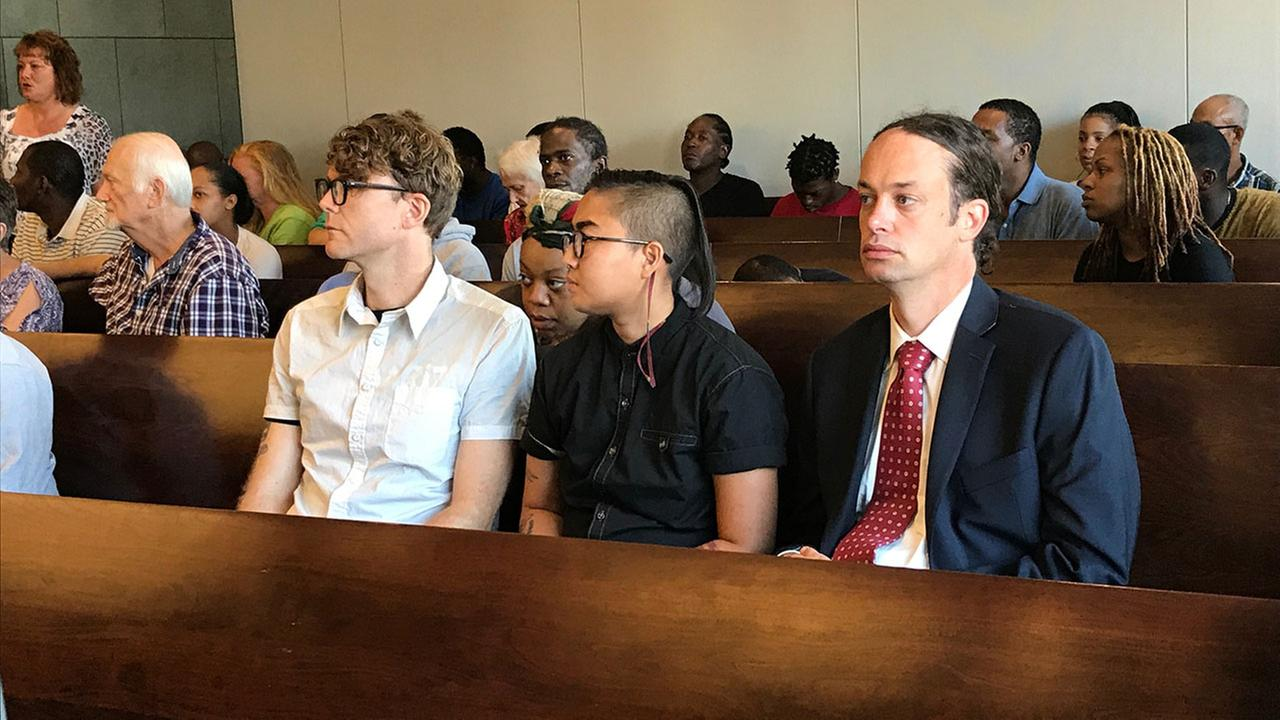Three arrested in connection with vandalizing Durham Confederate statue waiting court appearance Thursday morning