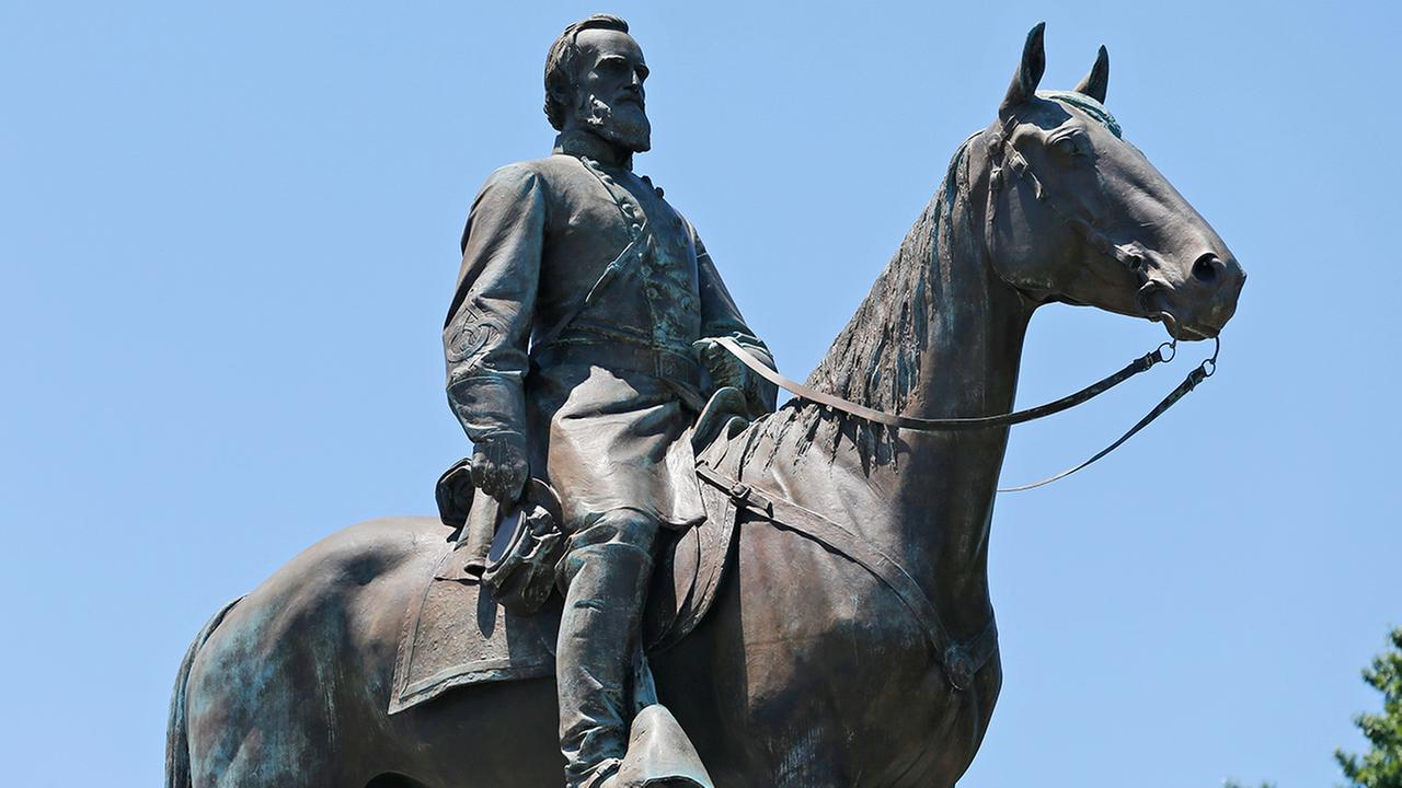 This Wednesday, June 28, 2017, shows the statue of Confederate Gen. Stonewall Jackson on Monument Avenue in Richmond, Va.