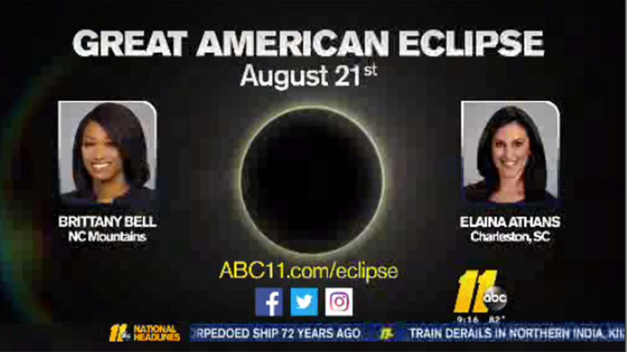 Solar eclipse coverage