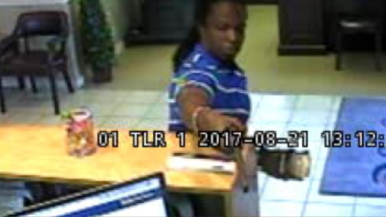 A suspect in the deadly bank robbery in Conway, South Carolina.