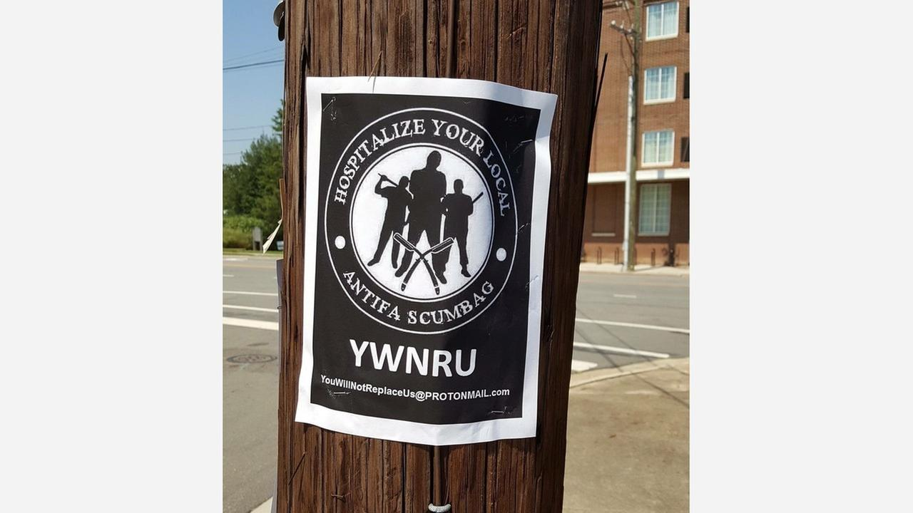 The City of Durham is sending out an alert about racist fliers popping up around downtown.