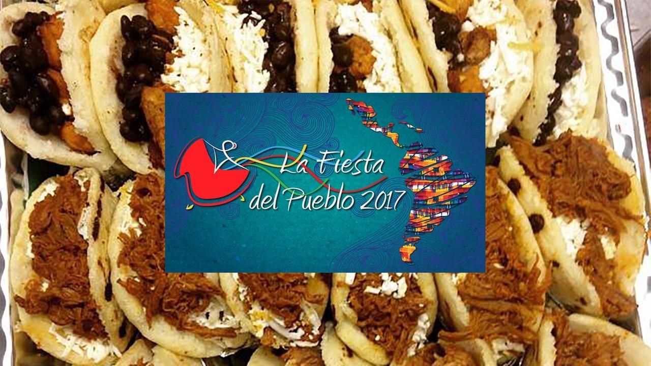 Check out the food at La Fiesta Del Pueblo 2017