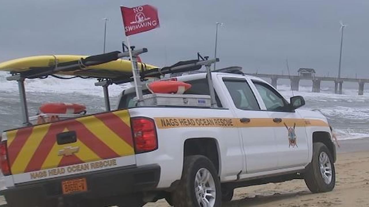 Beach Patrol at Nags Head (WTVD photo/Angelica Alvarez)