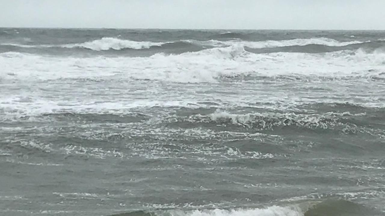 Nags Head near Jeannettes Pier (WTVD photo/Bob Gaughran)