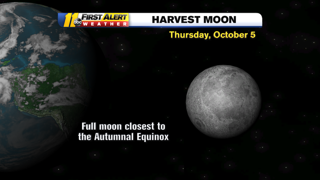 Why this year's Harvest Moon will be unique