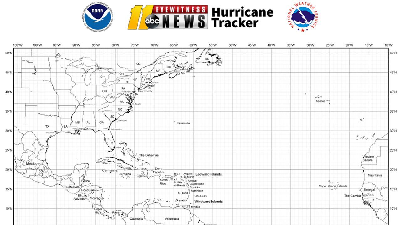Download ABC11's Hurricane Tracker Map