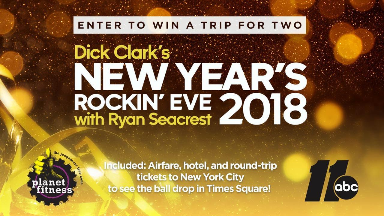 2017 New Years Eve Rockin' Sweepstakes
