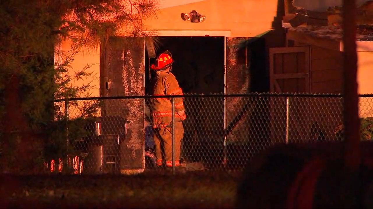 Fire crews respond to fire in Wake County