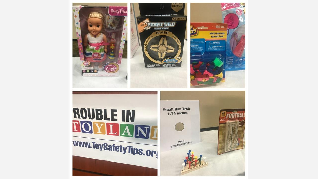 Group finds dangerous toys on shelves