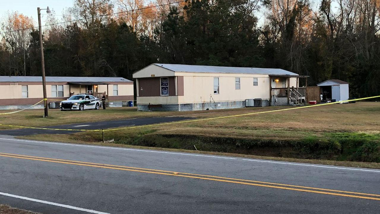 Mariah Woods home with her mother and her mothers live-in boyfriend on Dawson Cabin Road in Jacksonville, North Carolina.