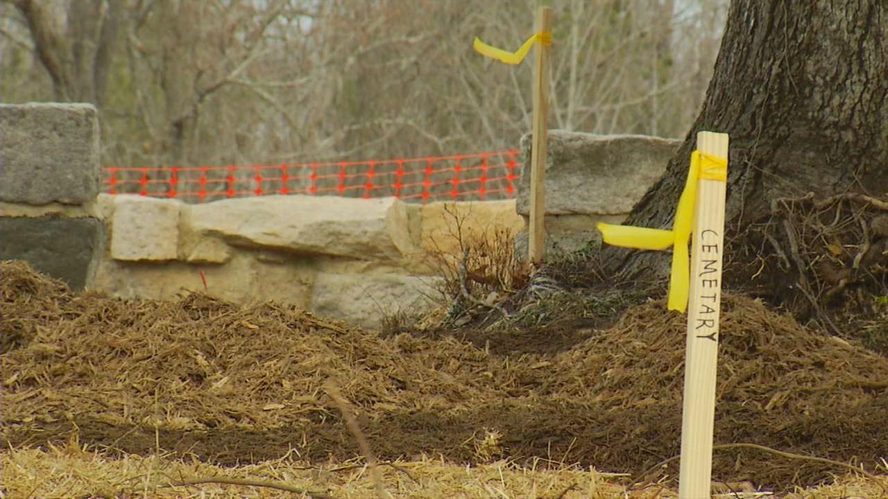 Some Wake Forest residents upset after a video posted to Facebook claims a local home developer bulldozed a historic cemetery. The developer disputes that claim.